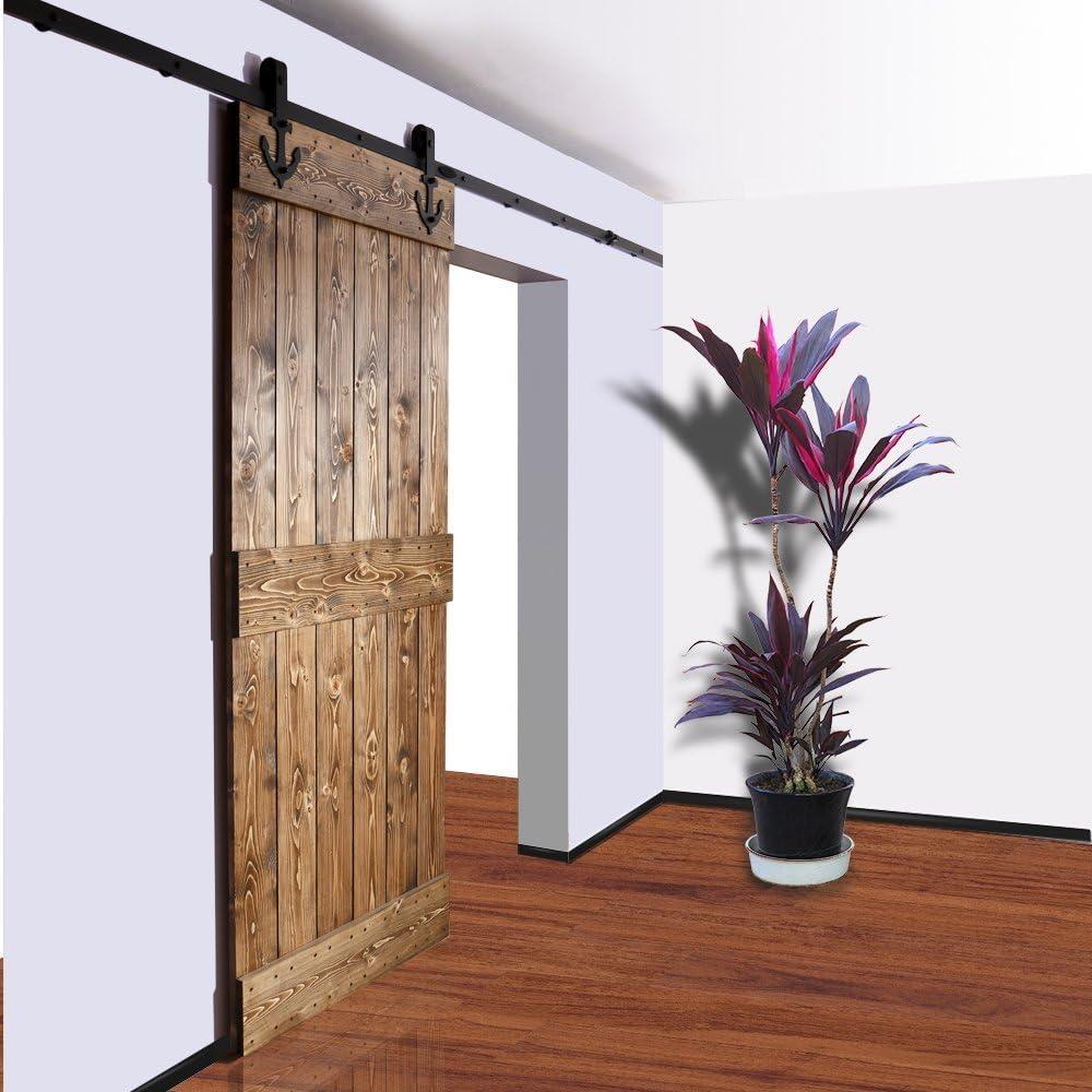 Hahaemall 13 pies/4 M decoración del hogar colgador de acero sola ...