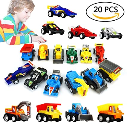 Amazon Com Dimy Toys For 3 4 5 Year Old Boys Mini Pull Back
