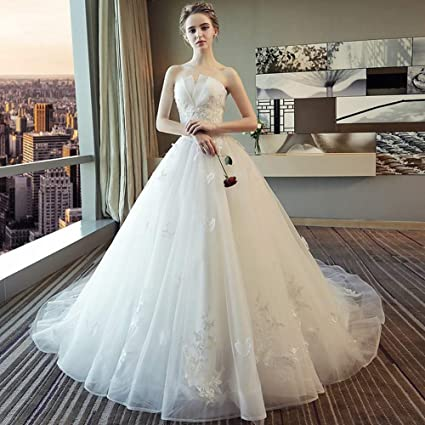 detailed look 03615 08401 YT-RE Top Bianco da Sposa Romantico Top Princess da Sogno ...