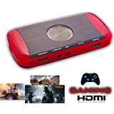 Tech Stor3 Game Capture Pro HD Gioco 1080P Registratore Gameplay gaming per PC Xbox One / 360 & PS4 / PS3 WII / WIIU Recorder Streaming Video Grabber VHS (Gameplay Recorder)