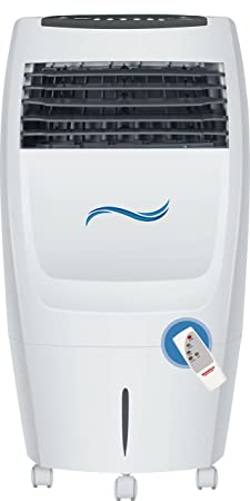 Maharaja Whiteline Frostair 20 DLX CO-127 20 L Air Cooler (White and Grey) - with Remote Control