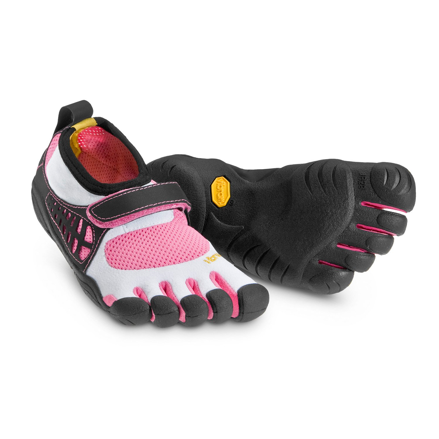 pretty nice d6880 29886 Amazon.com   Vibram FiveFingers KSO Shoes White Pink Black   Running