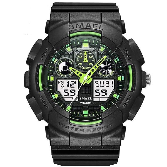 Beydodo Relojes Unisex Reloj Hombre Reloj Impermeable Reloj Multifunción Relojes Electronicos Reloj Hombre Moda Reloj de Estudiante Reloj Deportivo Hombre ...