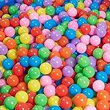 三和順 100個入り ファンボール ソフトプラスチック ピット プール カラーボール