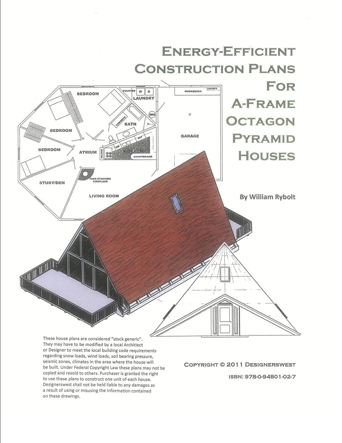 amazon com house plans for a frame octagon and pyramid houses amazon com house plans for a frame octagon and pyramid houses kitchen dining