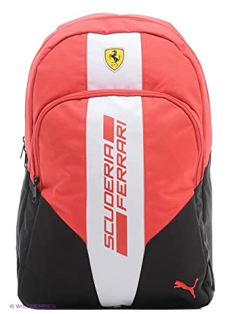 dd2e23d3b680 Puma Unisex Ferrari Fanwear Backpack 07395601  Amazon.in  Bags ...