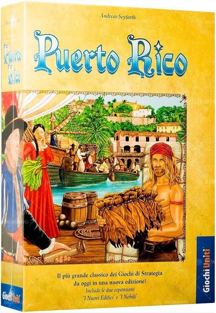Giochi Uniti Puerto Rico - Juego de Mesa (en Italiano): Amazon.es ...