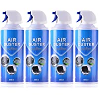 Air Duster Compressed Cleaner Spray Laptop PC Keyboard Camera Lens 2/4 Pack (4 Pack)