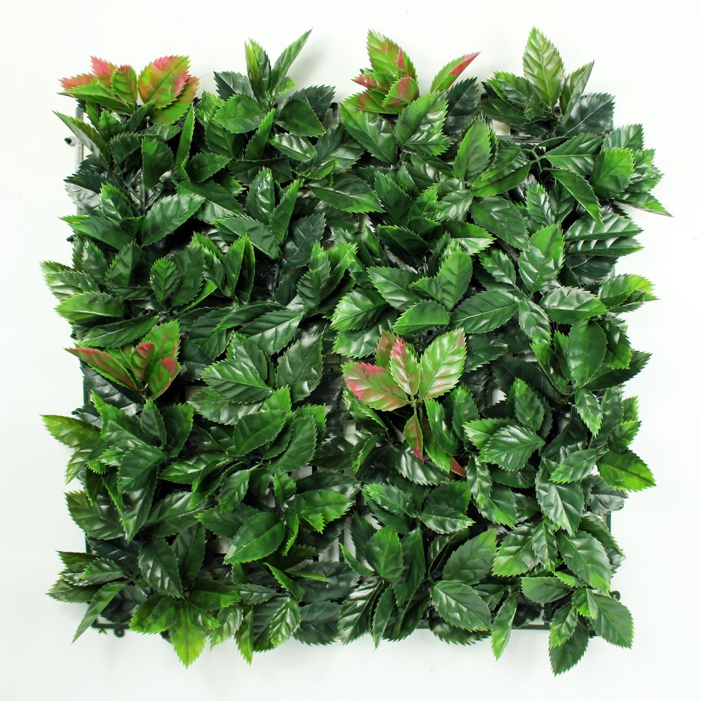 ULAND Artificial Hedges Panels for outdoor, Decorative Greenery Privacy Fence Screening, Home Garden Decoration, 12pcs 20''x20'' (12, ULA002)