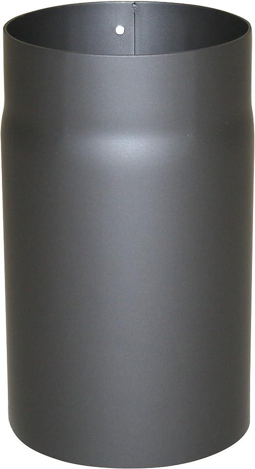 Kamino - Flam – Tubo para chimenea, Conducto de humos – resistente a altas temperaturas, Antracita, Ø 150 mm/longitud 750 mm: Amazon.es: Hogar
