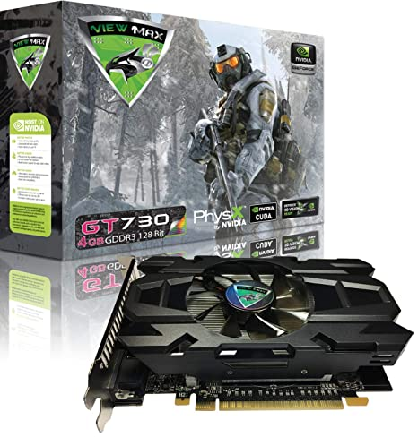 Amazon.com: viewmax NVIDIA GeForce GT 730 4 GB GDDR3 128 bit ...