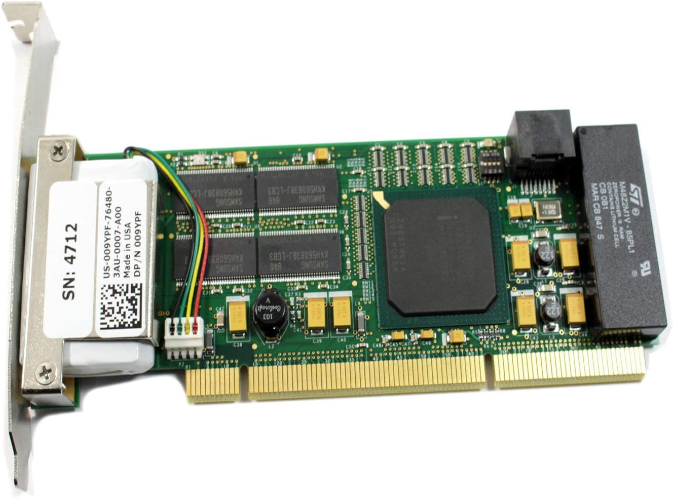 Dell Compellent C10 Z Track 512MB Cache Card 09YPF