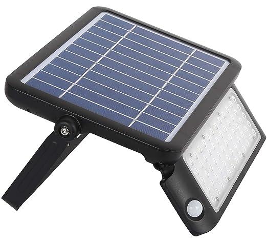 Amazon.com: JCM LED Solar Flood Sensor de movimiento ...