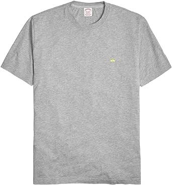 Brooks Brothers Aqua Blue Classic Fit Crewneck Tee T-Shirt Sz Medium M 3955-7
