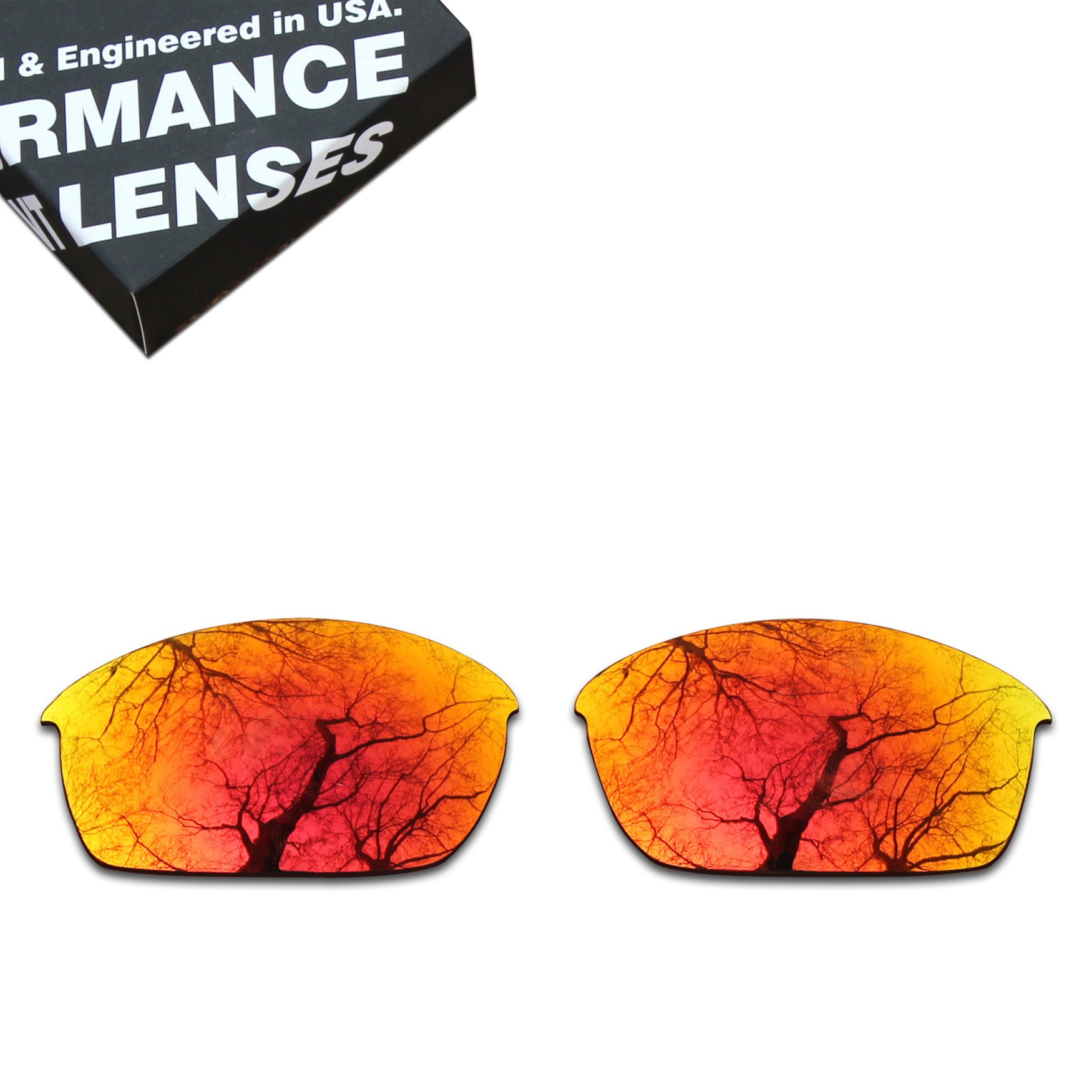 ToughAsNails Polarized Lens Replacement for Oakley Flak Jacket Sunglass - More Options