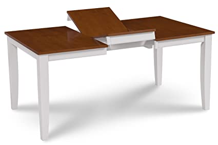 Amazon.com - Trithi Furniture - Fullerton Solid Wood Extendable ...