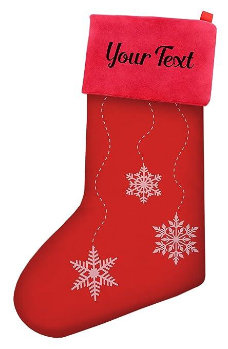 Amazon Com Custom Christmas Stockings Kids Christmas Falling