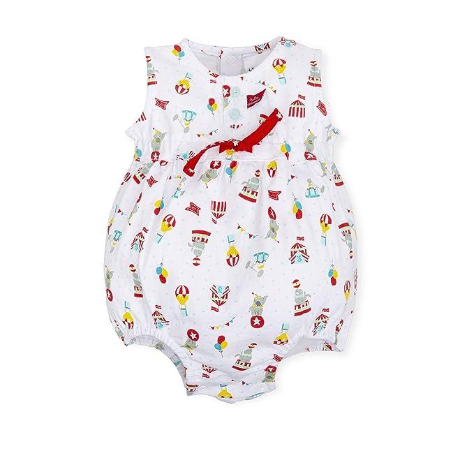 10024c837 Tutto Piccolo 6394S19 Ropa para Bebé Niño o Niña Ranita Mono Peto Tricot de  Algodón (Tallas de 0 a 24 Meses) Estampado de Circo  Amazon.es  Ropa y ...