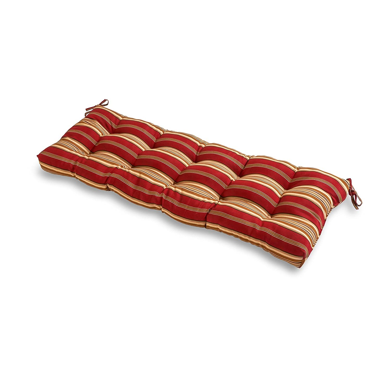 Amazoncom Greendale Home Fashions Indooroutdoor Bench Cushion