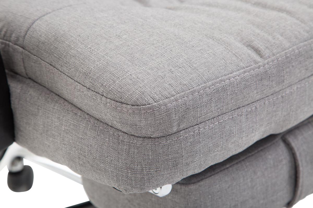 Clp sedia ufficio hades in tessuto poltrona da studio ergonomica