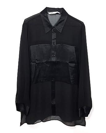 le rapport qualité prix vraie qualité 2019 real Zara Femme Chemise à Bande satinée 4437/288: Amazon.fr ...