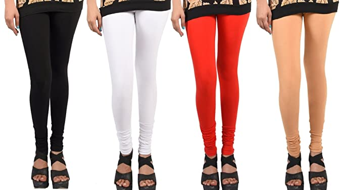 Buy Wekay Lifestyle Women S Cotton Sale For 4 Piece Leggings Size Xx Large At Amazon In