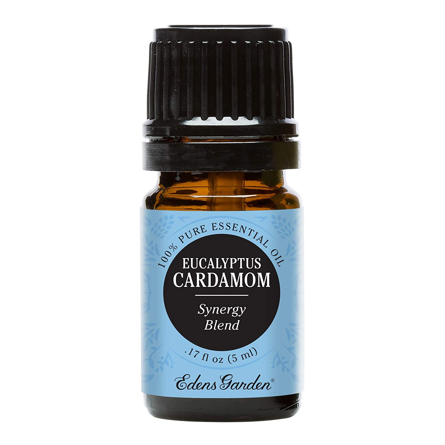 Edens Garden Eucalyptus Cardamom Essential Oil Synergy Blend, 100% Pure Therapeutic Grade (Highest Quality Aromatherapy Oils- Congestion & Cold Flu), 5 ml