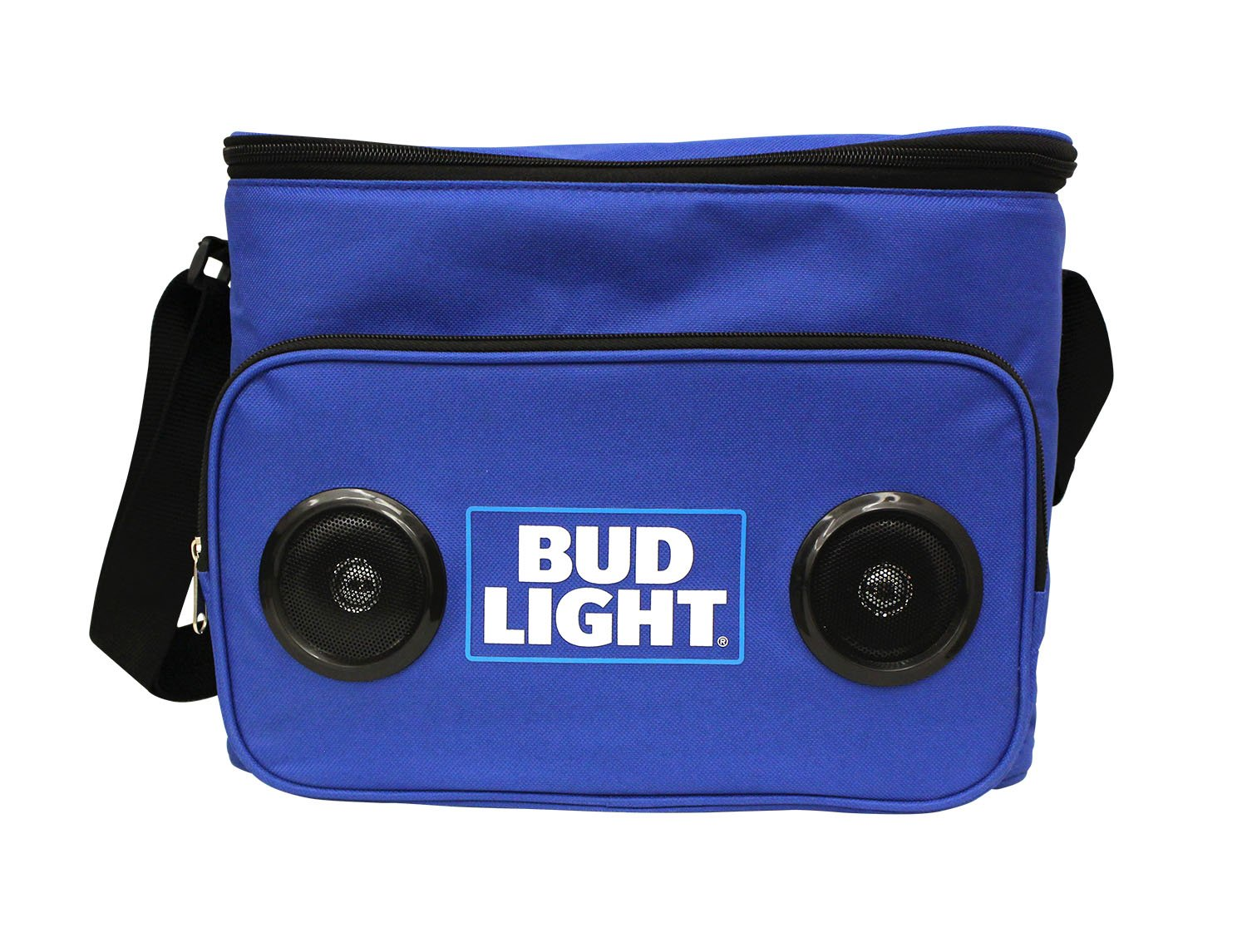 Bud Light Soft Cooler Bluetooth Speaker Portable Travel Cooler with Built in Speakers BudLight Wireless Speaker Cool Ice Pack Cold Beer Stereo for Apple iPhone, Samsung Galaxy by Bud Light (Image #2)