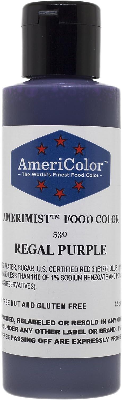 AmeriColor AmeriMist Regal Purple Airbrush Food Color, 4.5 oz