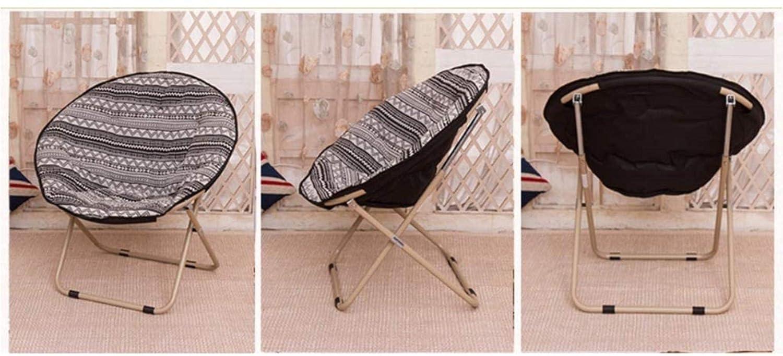 Sun Lounger solstolar stol stol däckstol hopfällbar stol solstol måne stol bärbar stol lunchpaus 5 färger xiuyun (färg: A) E