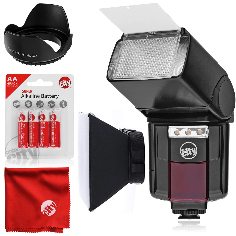 Flash universal automático para cámaras Canon EOS DSLR