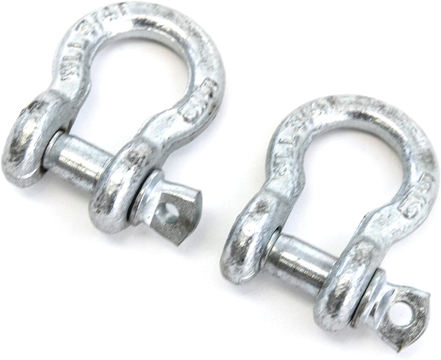 Red Hound Auto 20 Galvanized 5//16 8mm Boat Marine Anchor Bow Shackle Heavy Duty Steel Screw Pin