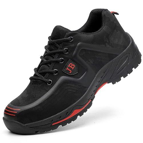 le dernier d8edf ef131 COOU Chaussure de Securite Femmes Hommes Legere S3 Impermeable Basket  Securite Anti derapante Chaussure de Travail Basket Unisexes