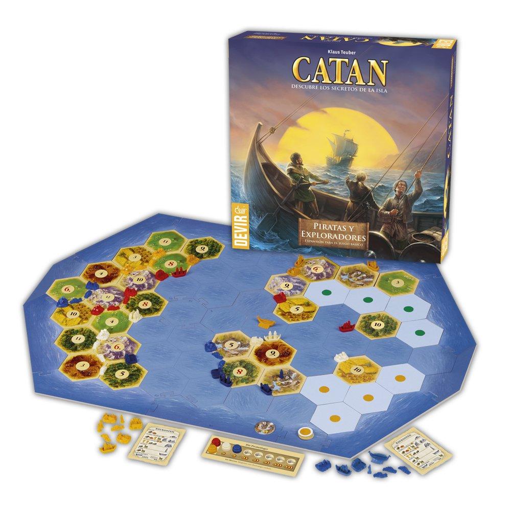 Catan-Expansión Piratas y Exploradores https://amzn.to/2ARoowk