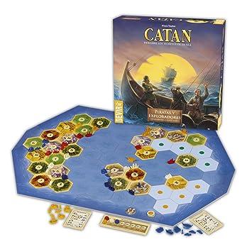 Catan Devir Expansion Piratas Y Exploradores Juego De Mesa
