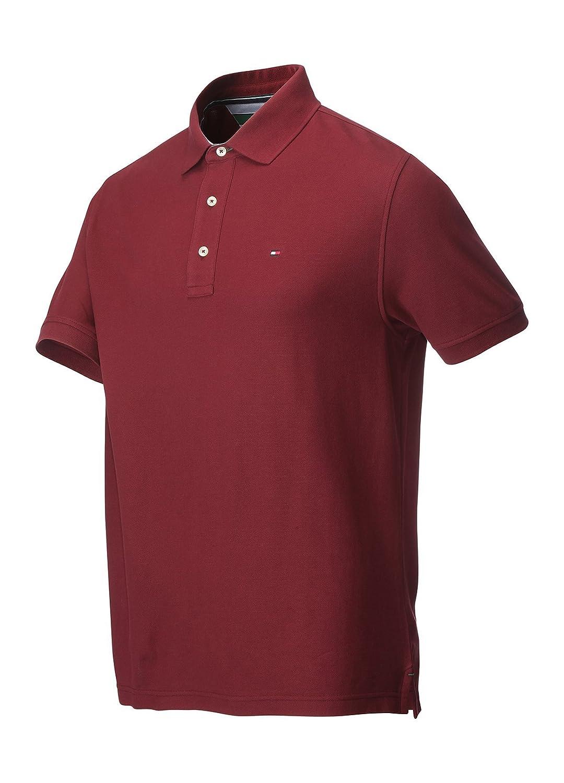 Tommy Hilfiger Pique Golf - Polo para Hombre (Manga Corta), Hombre ...