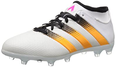 the best attitude cfad1 d1328 adidas Performance Womens Ace 16.2 Primemesh FGAG Soccer Shoe,WhiteGold