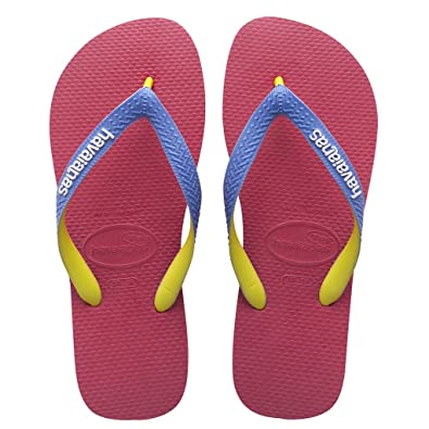 ef588e55b1b0 Havaianas Top Mix Womens Flip Flops White Pink New in (BR 39-40 UK 6-7 EU  41-42)  Amazon.co.uk  Shoes   Bags