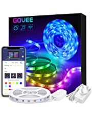 Alexa LED Strip Lights 5 Metre, Govee Smart WiFi Wireless APP Controlled, Music Sync Lighting Strip for Home Kitchen TV Party, Works with Amazon Alexa, Google Assistant (Not Support 5G WiFi)