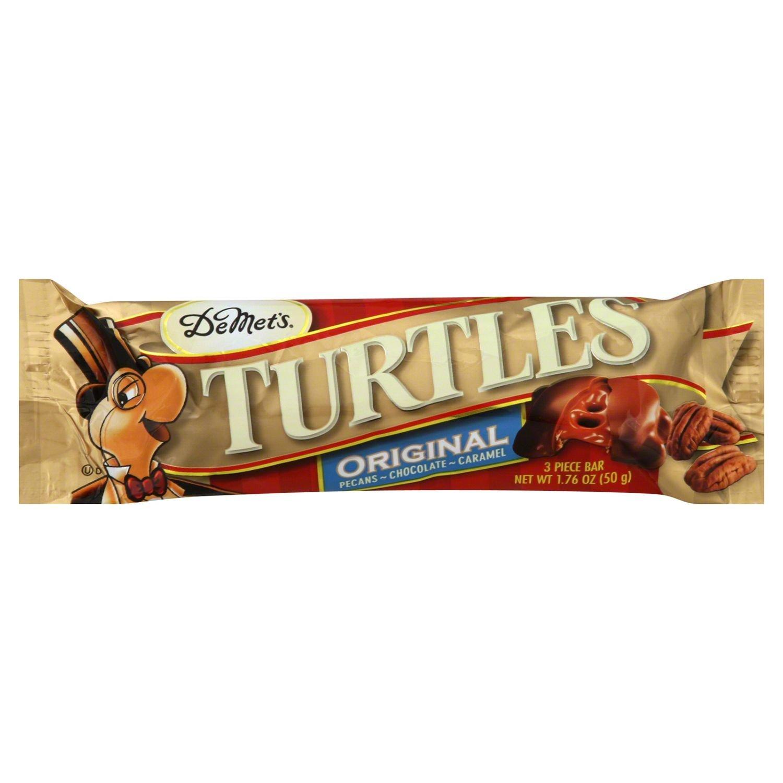 Turtles Original Pecan, Chocolate Caramel Candy King Size