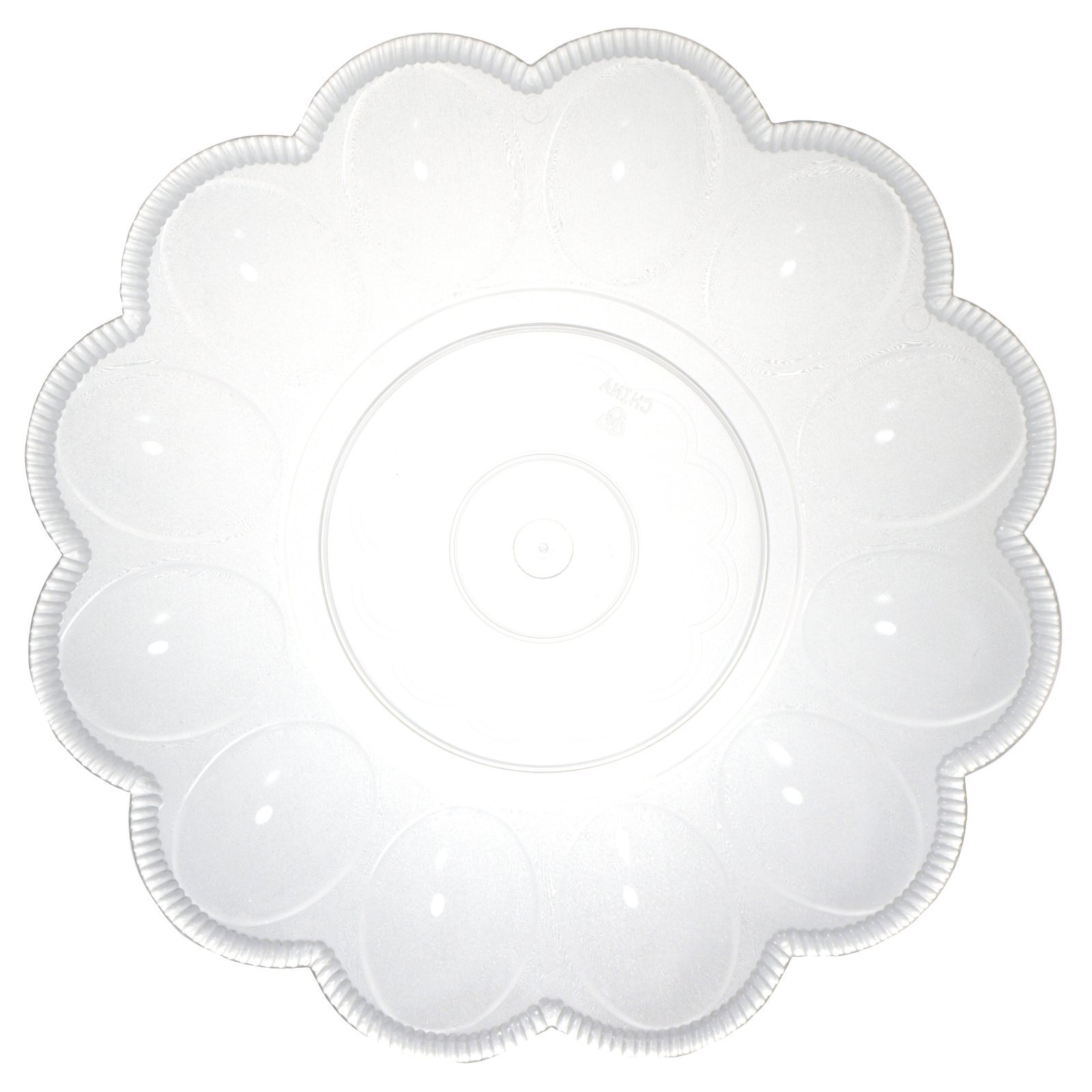 Clear Egg Platter Party Supplies by Northwest Enterprises (Image #1)