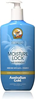 product image for Australian Gold Moisture Lock Tan Extender Moisturizer Lotion, 16 Ounce | Enriched with Aloe & Vitamin E