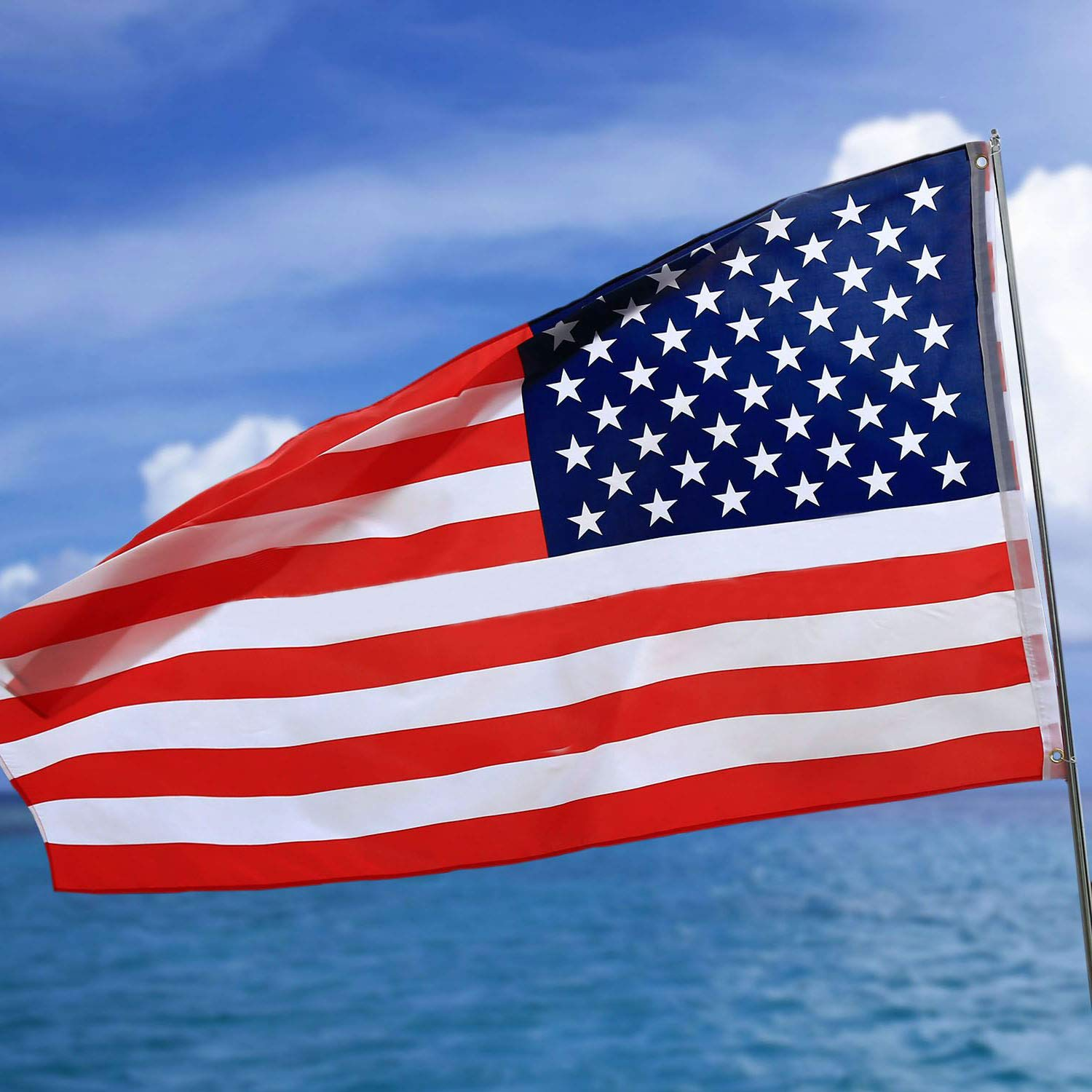 American Flag 3x5 Ft Home Garden Flags Printed Stars And Stripes
