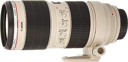 Canon Ef 70 200 Mm F 2 8l Is Ii Usm Teleobjektiv Zoom Kamera
