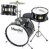 Mendini By Cecilio Kids Drum Set - Kit w/ Drums, Drumsticks, Seat - Musical Instruments Age 5-12