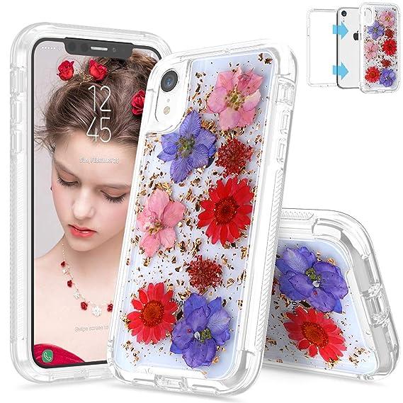 Amazon.com  SEYMAC iPhone XR Case iPhone XR Flower Case 22c7c43910
