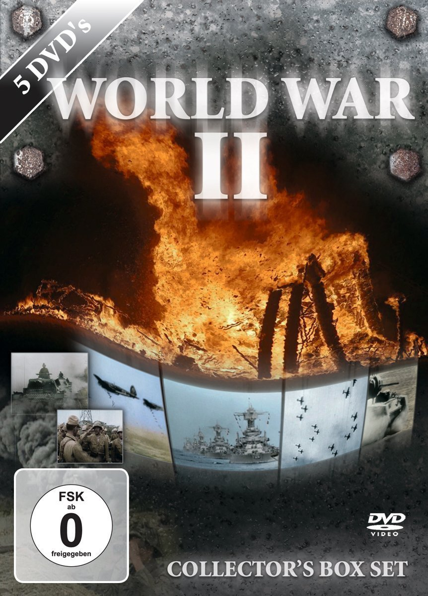 World War II Collector's 5 DVD Box Set