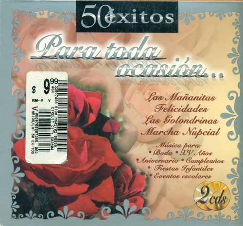 Various - 50 Exitos Para Toda Ocasio Las Mananitas ...