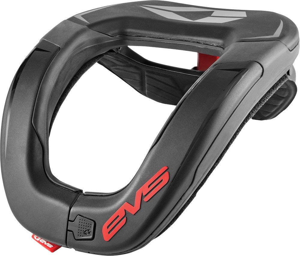 EVS RC4 Adult Race Collar Dirt Bike Motorcycle Body Armor - Black/One Size by EVS Sports