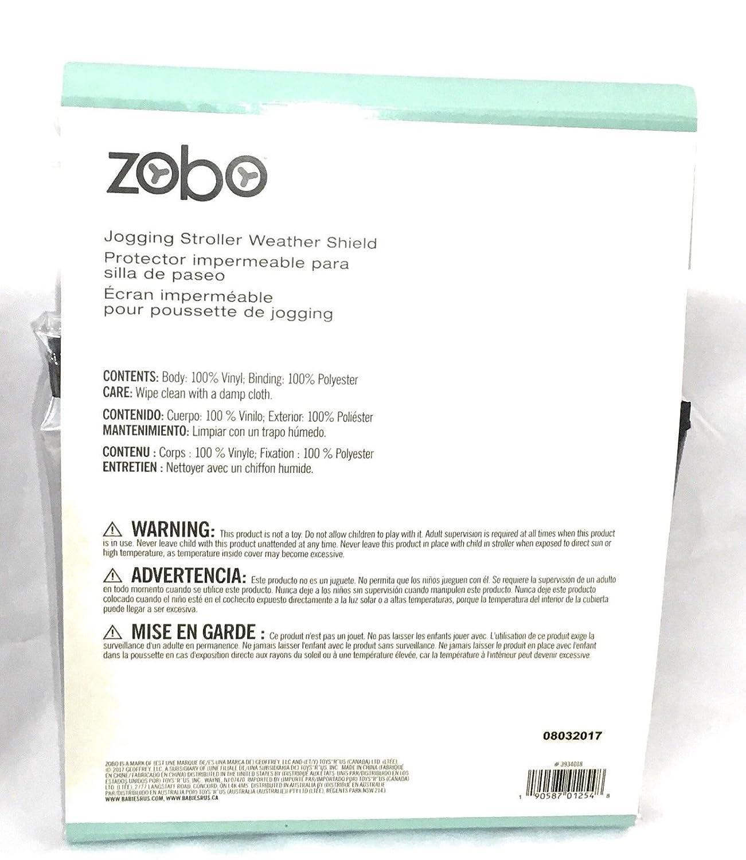 Amazon.com : Zobo Jogging Stroller Weather Shield : Baby